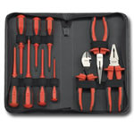 KD Tools 10 Piece Insulated Pliers and Screwdriver Set KDT80062