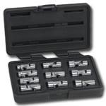 "KD Tools 3/8"" Drive 10 Piece Metric 6 Point Flex Socket Set KDT80565"