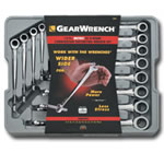 KD Tools 12 Piece Metric X-Beam Ratcheting Combination Wrench Set KDT85888
