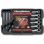 KD Tools 9 Piece SAE X-Beam™ Ratcheting Combination Wrench Set KDT85898