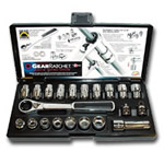 KD Tools 21 Piece GearRatchet Combination SAE and Metric Socket Set KDT8921