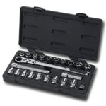 "KD Tools 3/8"" Drive 23 Piece GearRatchet Set with Locking Handle KDT893823"