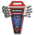 KD Tools 4 Piece SAE Reversible GearWrench Completer Set KDT9545