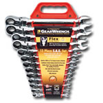 KD Tools 13 Piece SAE Flex GearWrench Set KDT9702