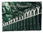 K Tool International 14 Piece SAE Combination Wrench Set KTI41014