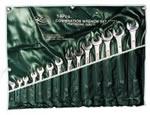 K Tool International 14 Piece SAE Combination Wrench Set KTI41014