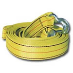 "K Tool International 1-7/8"" X 10' 7,000 lb Capacity Tow Strap With Forged Hooks KTI73801"