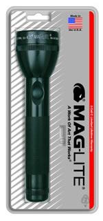 Mag Instrument Black MagLite® 2 C-Cell Flashlight MAGS2C016