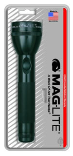 "Mag Instrument MagLite® 4 ""C"" Cell Flashlight Black MAGS4C016"
