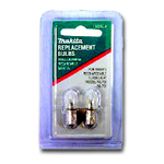 Makita Bulb for MAKL901 & MAKL902 2 per pack MAK192546-1