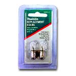 Makita Bulb for MAKL901 & MAKL902 2 per pack MAK192546-1
