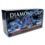 Micro Flex Extra Large Diamond Grip Gloves 100 Per Box MFXMF300XL