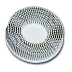 """3M 2"""" Scotch-Brite™ Roloc™ Bristle Discs 120 Grit Fine White MMM7528"""