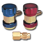 Mountain R12 - R134a Conversion Manual Style Coupler Set MTN8200