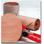 Norton 6in. P400B Grit Blank Champagne Magnum PSA Disc Roll Sanding Sheets NOR31471