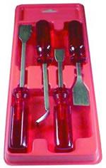 Old Forge 4 Piece Carbon Scraper Set OLD7365
