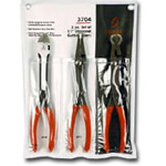 "Sunex Tools 11"" 3 Piece Specialty Pliers Set SUN3704"