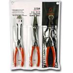 "Sunex Tools 11"" 3 Piece Specialty Pliers Set SUN3704"
