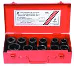 "Sunex Tools 11 Piece 3/4"" Drive Truck Service Impact Socket Set SUN4682"