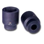 "Sunex Tools #5 Spline Drive 1-1/2"" x 13/16"" Square Impact Socket SUN5530"