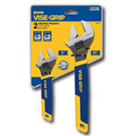 "Vise Grip 6"" and 10"" 2 Piece Adjustable Wrench Set VGP2078700"