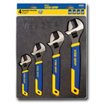 Vise Grip 4 Piece Adjustable Wrench Tray Set VGP2078706