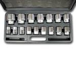 Wilmar 3/4 Drive 16 Piece Metric Socket Set WLMW34906