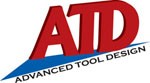 ATD Tools 6900A 9 pc. HVLP Spray Gun Set & ATD 8210 GoodYear® Four-Braid Rubber Air Hose Combo