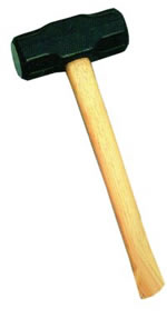 "Vaughan 6 lb. 36"" Double Face Sledge Hammer VAUSS6"