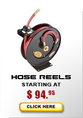 Hose reels from $70...