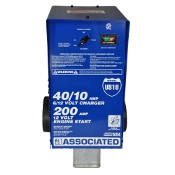 Associated US18 40 Amp Wheel Battery Charger - ASOUS18