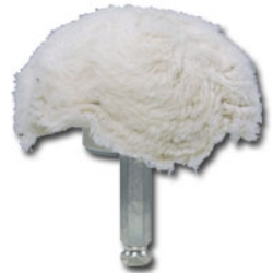 "Astro Pneumatic 4"" 100% Cotton Mushroom Shaped Buff AST3059-04"