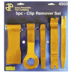 Astro Pneumatic 5 Piece Fastener and Molding Remover Set AST4505