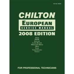 Chiltons Book Company 2008 European Service Manual CHN142220