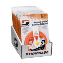 "Dynabrade Products 5"" Sanding Pad Counter Display Pack (Non-Vacuum) DYB95994"