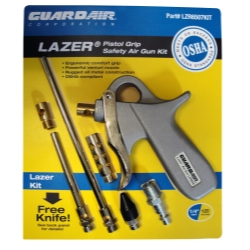 Guardair Corporation Lazer® Series Pistol Grip Safety Air Gun Kit GDALZR6507KIT