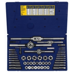 Hanson 53 Piece Metric Tap and Hexagon Die Set HAN26394