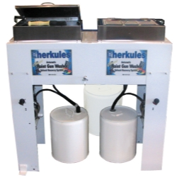 Herkules Equipment Dual Automatic Waterborne Paint Gun Washer HERG375