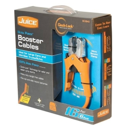 Hopkins 6 Gauge 16ft Juice Booster Cables with Cinch-Lock HPKBC0840