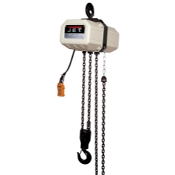 Jet Tools 231500 2SS-3C-15 2 Ton, 3 PH Electric Hoist with 15' Lift JET231500