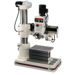 Jet Tools  J-720R Radial Drill Press, 3HP, 230/460V JET320033