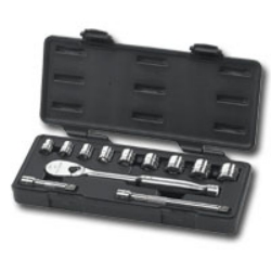"KD Tools 3/8"" Drive 12 Piece SAE 6 Point Socket Set KDT80556"