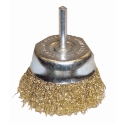 K Tool International 3in. Coarse Crimped End Wire Cup Brush KTI79216