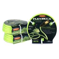 "Legacy Manufacturing Flexzilla™ ZillaGreen™ 3/8""  x 35' Air Hose with 1/4"" Threads LEGHFZ3835YW2"