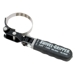 Lisle Import Swivel Gripper No Slip Filter Wrench LIS57010