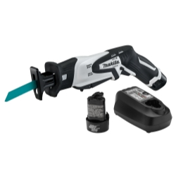 Makita 12V Li Ion Reciprocating Saw Kit MAKRJ01W