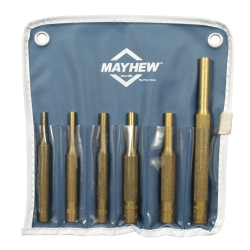 Mayhew 6 Piece Brass Pin Punch Kit MAY67006