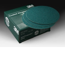 "3M™ 8"" 50/Box Green Corps™ Stikit™ Production™ Disc MMM1551"