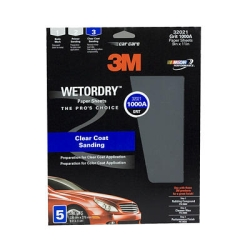 "3M™ 9"" x 11"" 5 Pack Imperial™ Wetordry™ Sheets MMM32021"