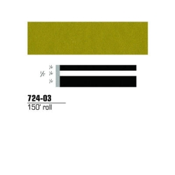 "3M™ Scotchcal™ Striping Tape, Gold Metallic, 1/2"" x 150' MMM724-03"